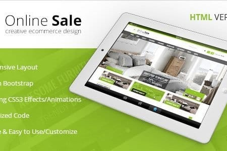 Online Sale - Responsive HTML5 eCommerce Template