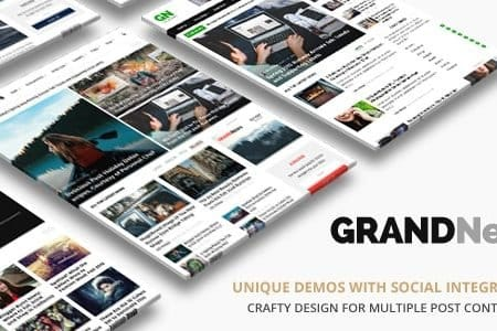 Grand News Magazine CMS