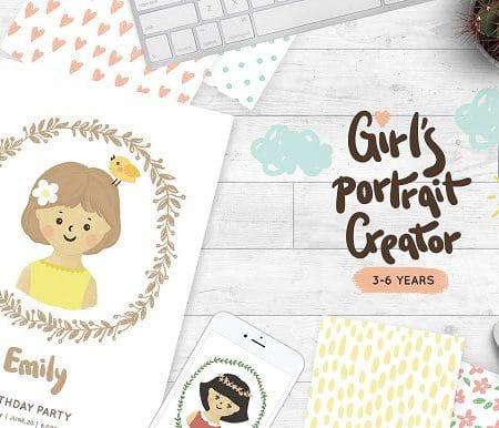 Girls portrait creator