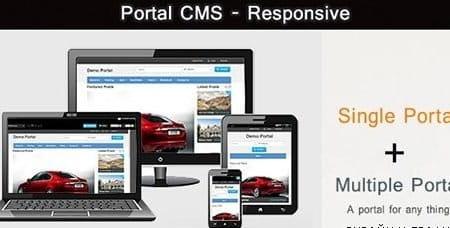 Portal CMS Full Script