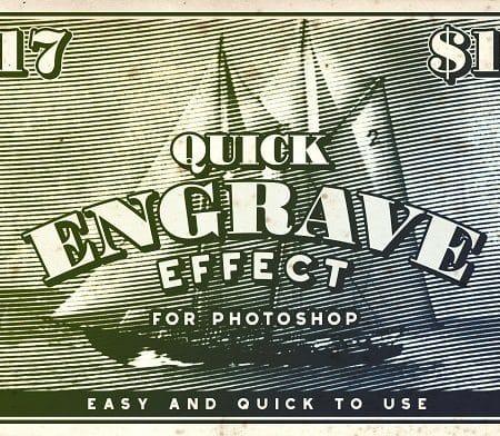Quick Engrave - Engraver Effect