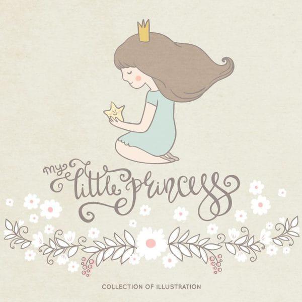 Little princess illustration (Turbo Premium Space)