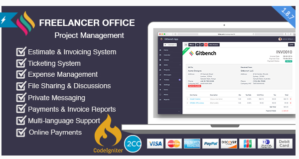 Freelance CRM System & Office