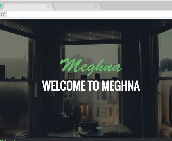 Meghna – Responsive One Page Business Template
