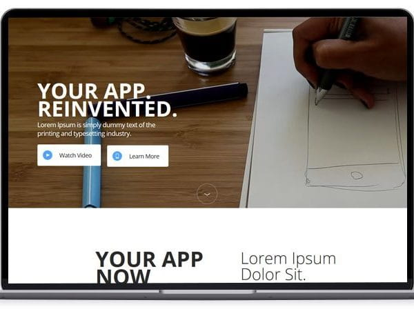 Appi – App Landing Page Template
