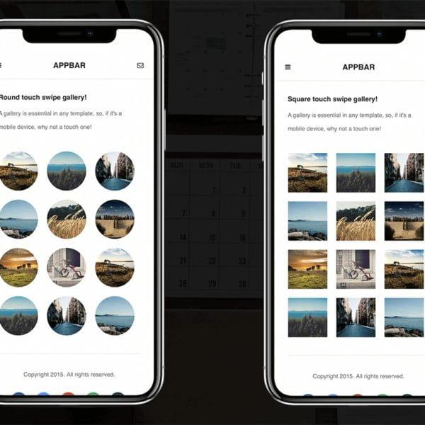 Multi-Purpose Mobile Template