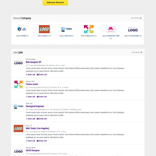 Job Board Portal Platform