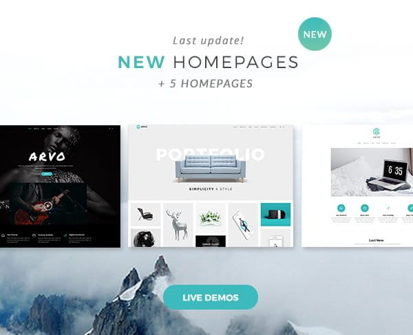 Arvo - A Clever & Flexible Multipurpose WordPress