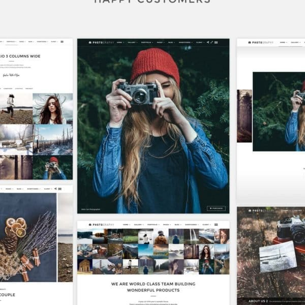 Responsive Photography CMS