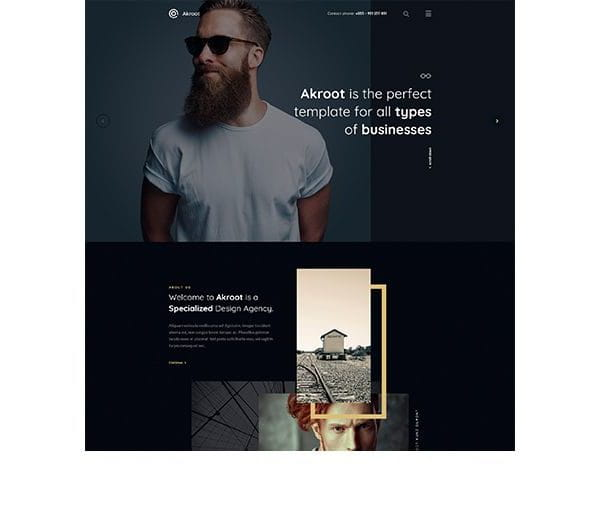 It is the Multi-purpose Creative HTML5
