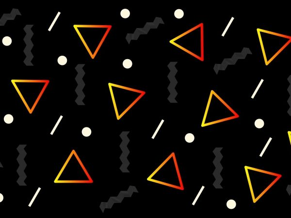 80 S Seamless Pattern Background