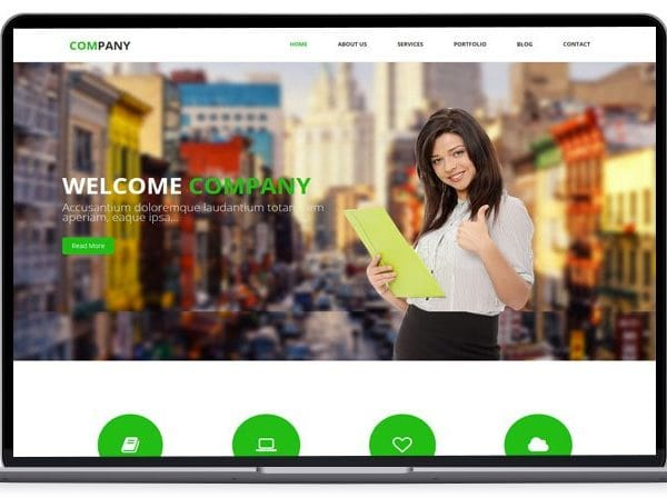 Company – HTML Bootstrap Template