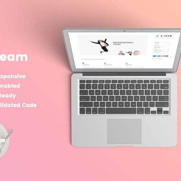 A-TEAM: Minimal & Responsive HTML5 Blog Template
