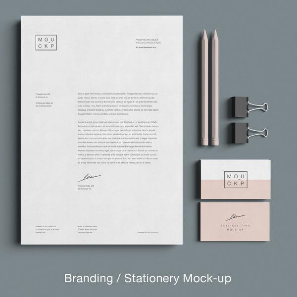 Advanced Branding Stationery Mockup (Turbo Premium Space)