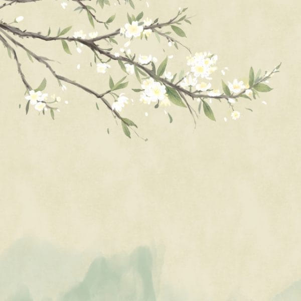 Ancient Flower Painting Flower Painting Antiquity Chinese Style Illustration