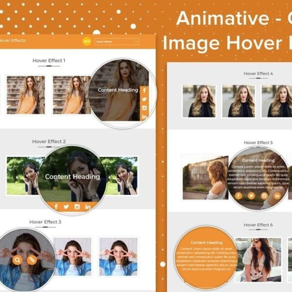 Animative - CSS3 Image Hover Effects