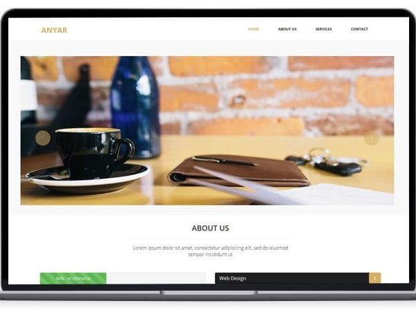 Anyar – Multipurpose One Page Bootstrap Theme