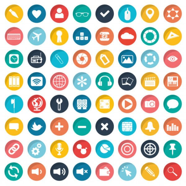 App icon set for websites