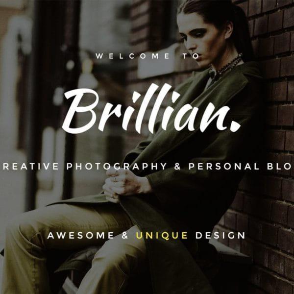 BRILLIAN - Personal, Blogging HTML Template