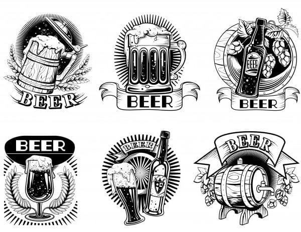 Beer icons (Turbo Premium Space)