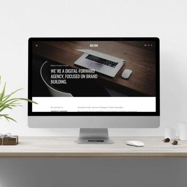 Belton – Minimal HTML5 Black & White Multipurpose