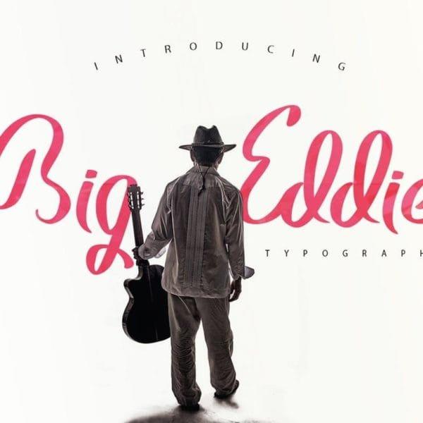 Big Eddie Script Typeface
