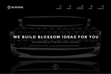 Blossom - Minimal Portfolio HTML5 Template