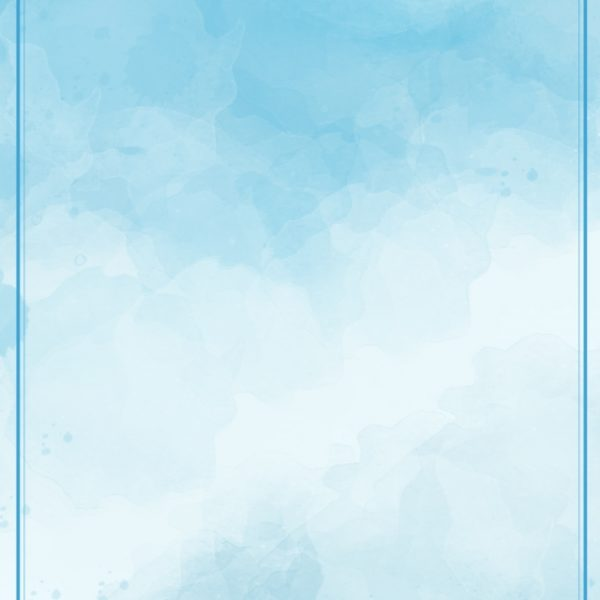Blue Gradient Watercolor Wild Poster Background Material