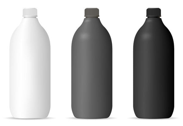 Bottles mockup set