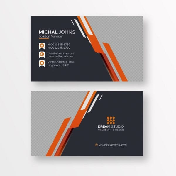 Business Card Template (Turbo Premium Space)