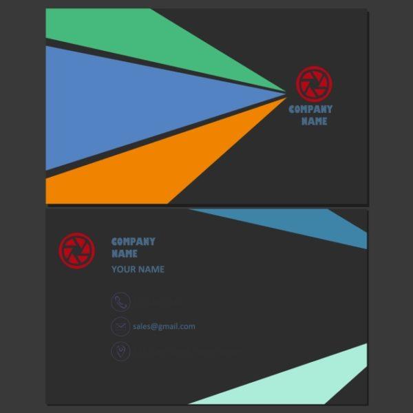 Business Card Template Simple Minimal Illustrated