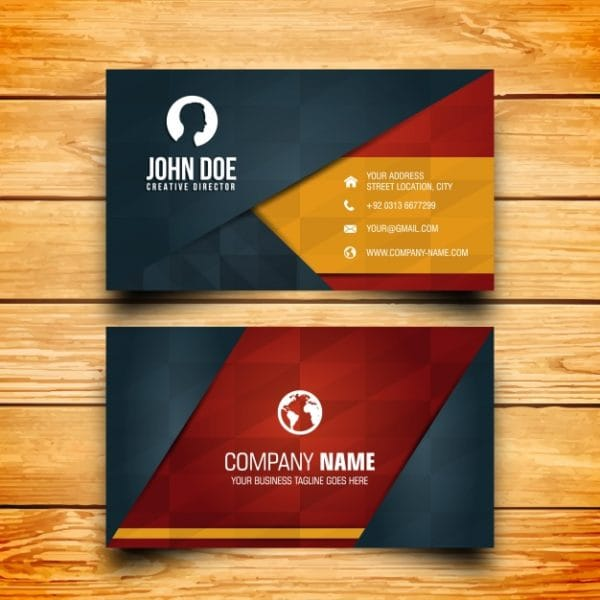 Business card design (Turbo Premium Space)