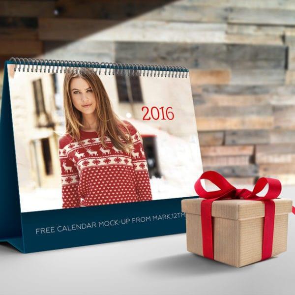 Calendar Mockup (Turbo Premium Space)