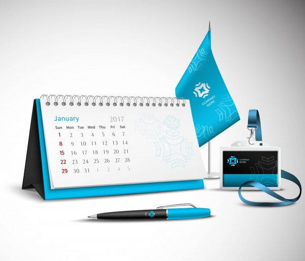 Calendar corporate identity