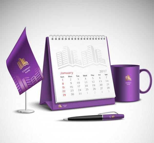 Calendar corporate identity (Turbo Premium Space)