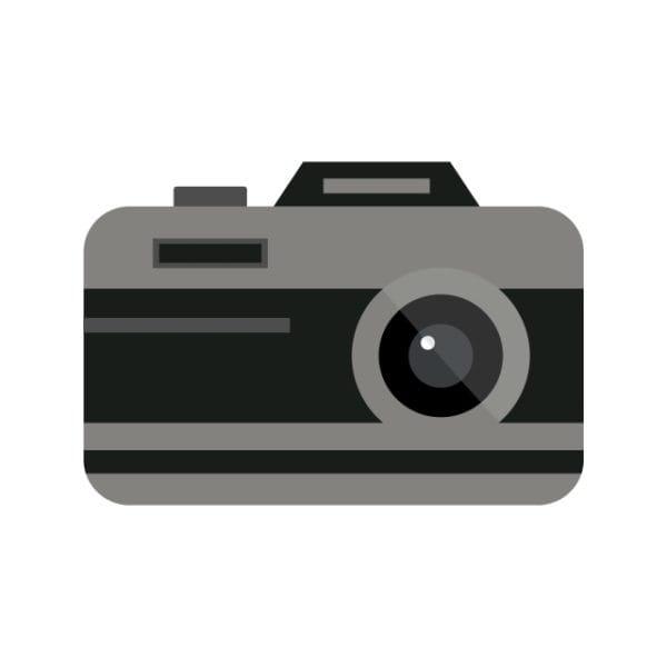 Camera Icon Creative Design Template