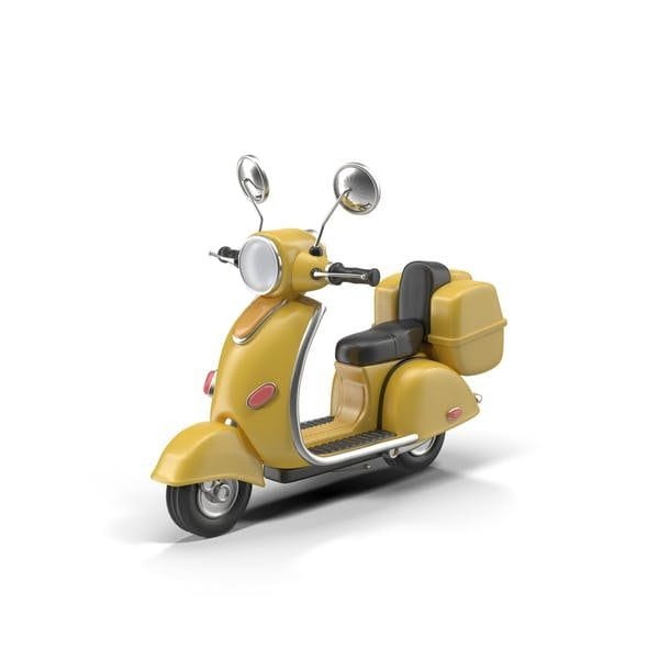 Cartoon Motor Scooter (Turbo Premium Space)