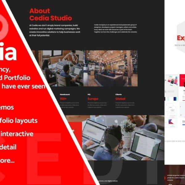Cedia - Creative Multi-purpose Template