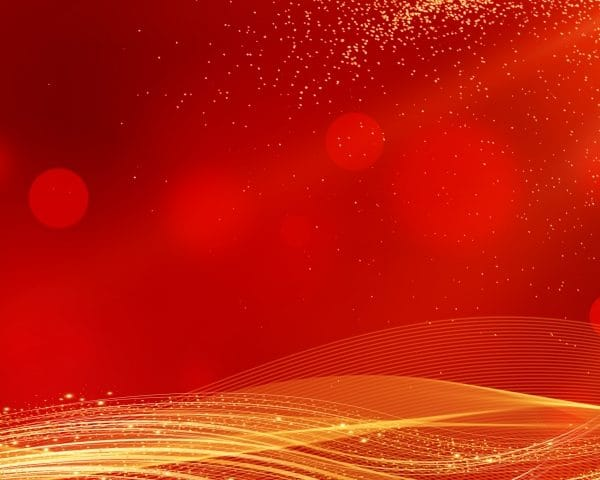 Chinese Style New Year Red Gold Background Material