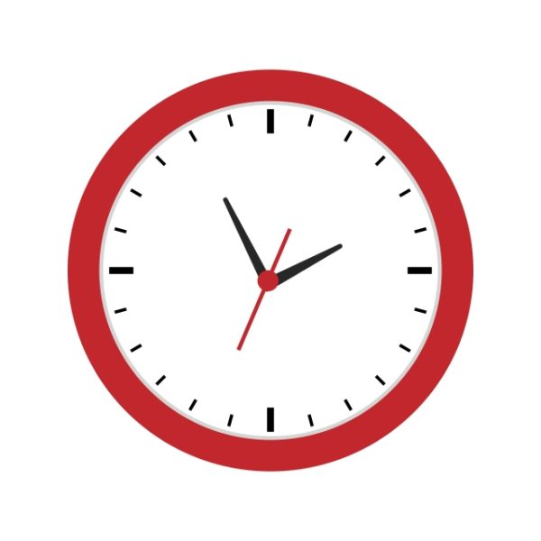Clock Icon Creative Design Template (Turbo Premium Space)