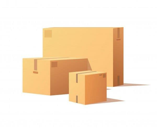 Closed boxes mockups