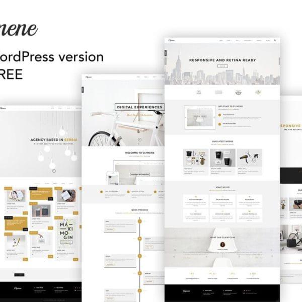 Clymene - Creative Multipurpose HTML Template + WP