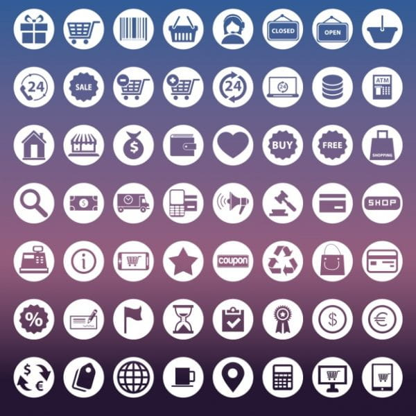 Collection of icons (Turbo Premium Space)
