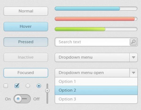 Colorful progress bars ui kit (Turbo Premium Space)