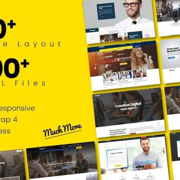 Consider - Multi-Purpose Responsive HTML5 Template
