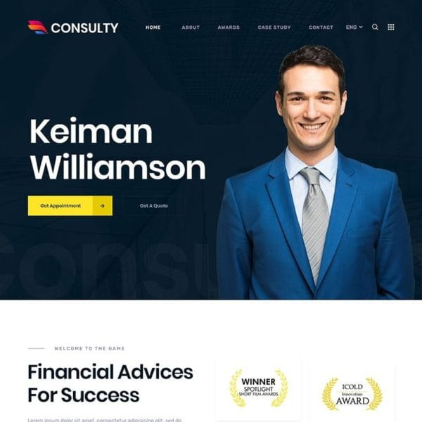 Consulty - Finance Consulting and Insurance HTML T