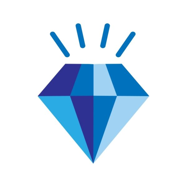 Diamond Icon Creative Design Template (Turbo Premium Space)