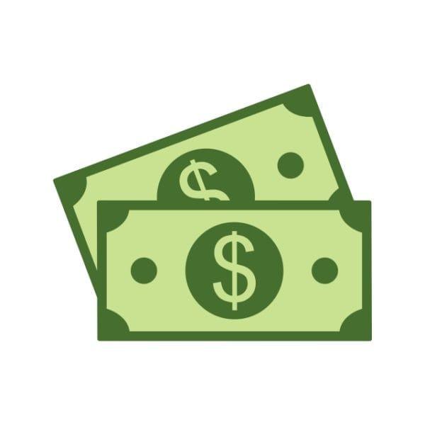 Dollar Icon Creative Design Template