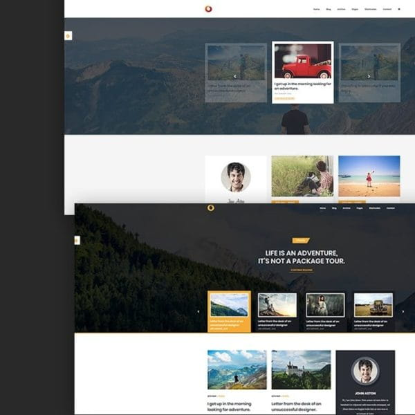 Dot – Personal Blog HTML5 Template