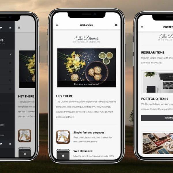 Drawer Mobile